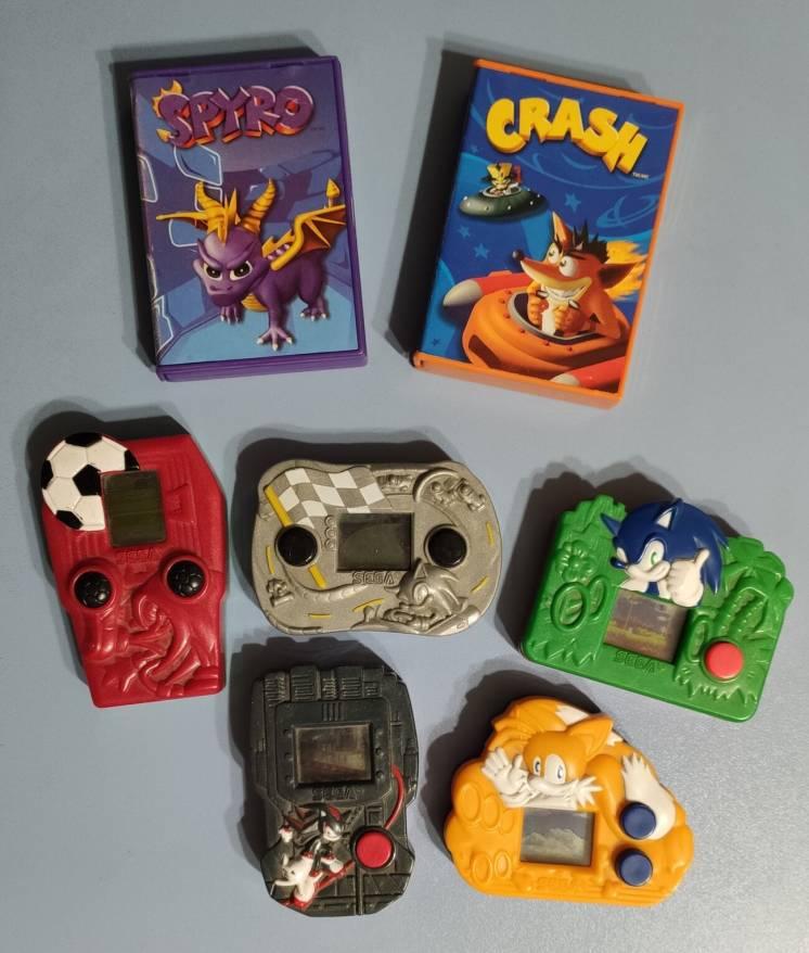 Игрушки, консоли SEGA McDonalds (МакДональдс) 2004-2005 гг.