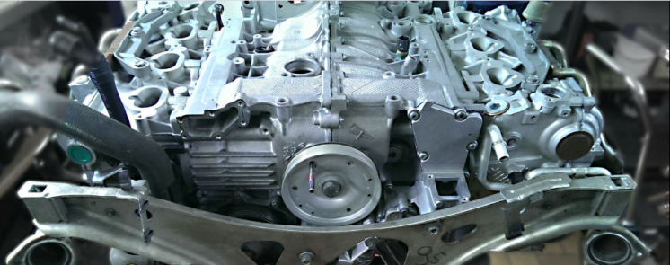Двигатель мотор Porsche carrera s 3.8