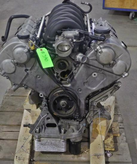 Двигатель мотор Porsche 9PA Cayenne S M48.00 4.5L 8