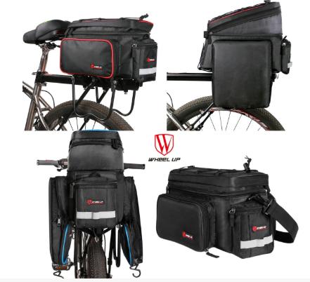 раскладная сумка-трансформер на багажник 9-26 л 0360