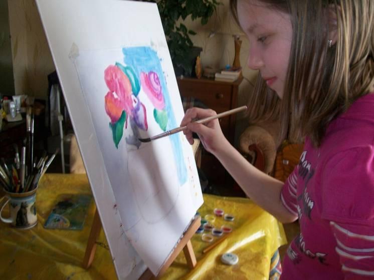 Приглашаем -на уроки-мастер-классы по живописи и дизайну
