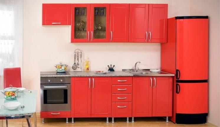 Кухня Лантана красная Киев