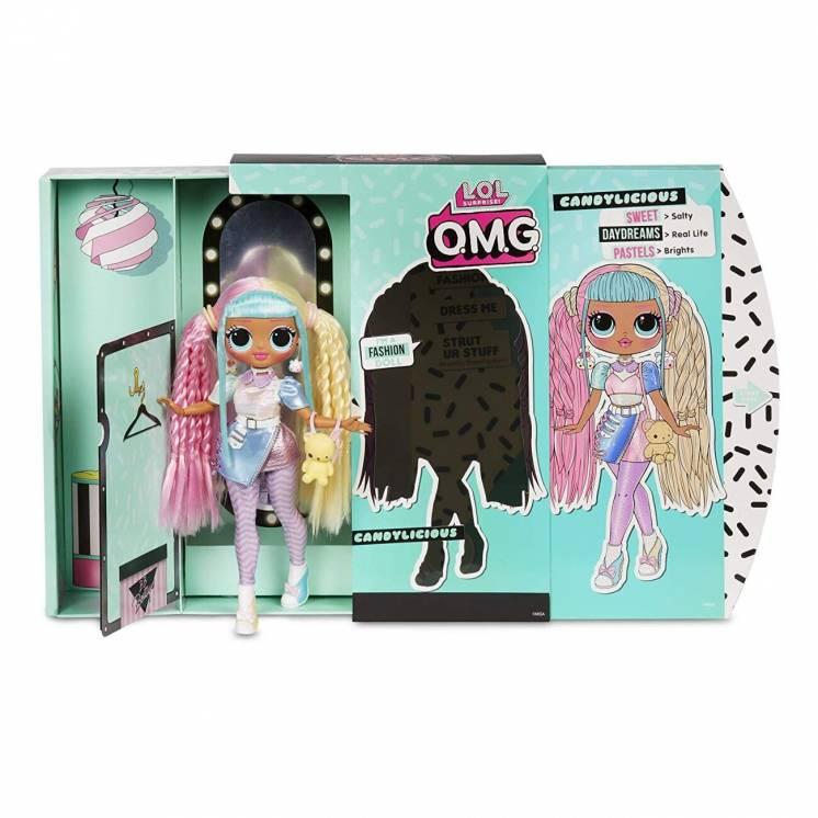 Кукла оригинал большая Лол Омг Леди Бон Сюрприз LOL OMG Candylicious