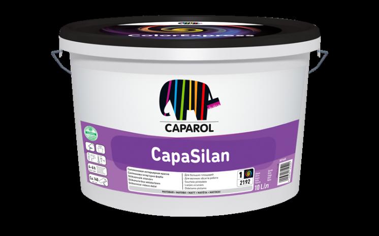 CapaSilan - силиконовая интерьерная краска, 10 л (Капарол)