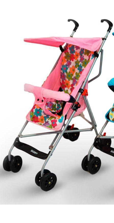 Детская коляска трость Sigma S-A-1, розовая