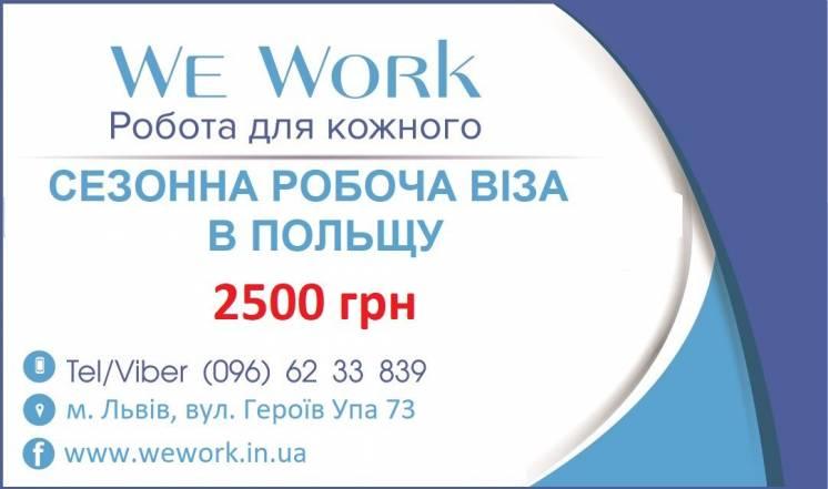 Робоча віза в Польщу + Робота