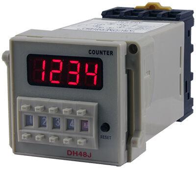 Счетчик импульсов DH48JA (24-240V AC DC)