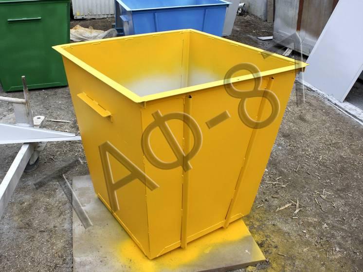 Продам мусорный бак для ТБО объемом 0,75 м3
