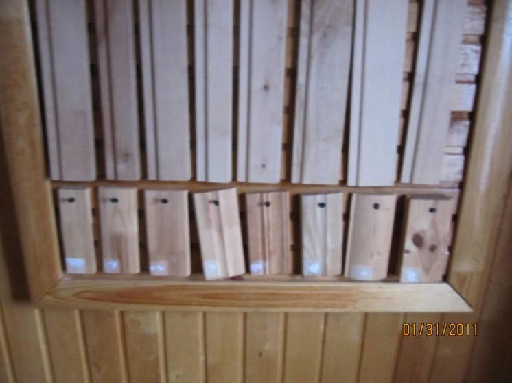 Лиштва та плінтус деревяні