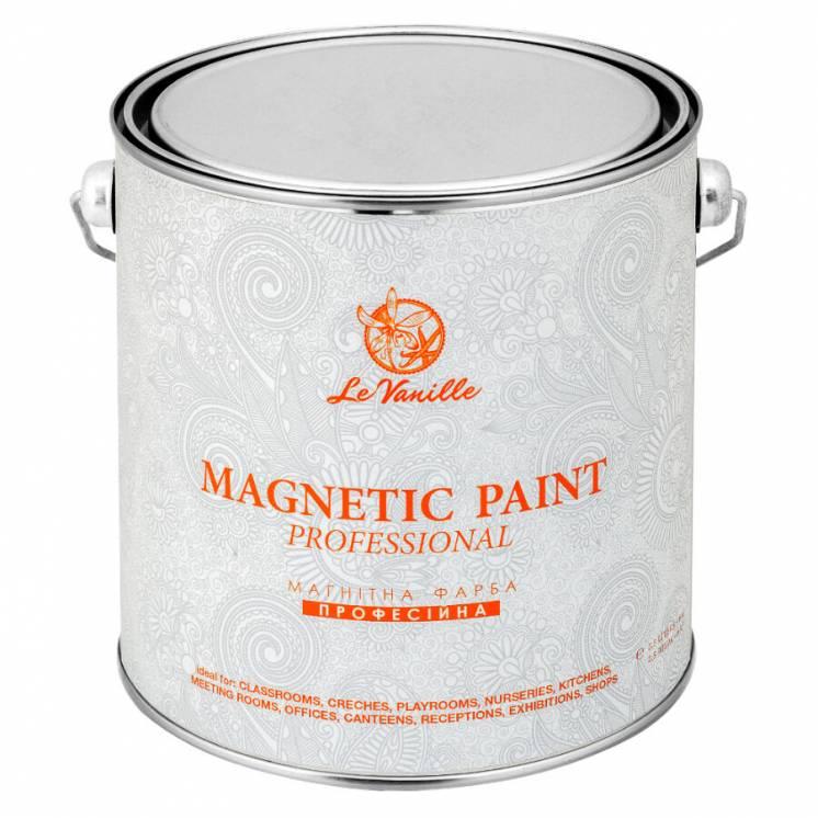 Профессиональная магнитная краска Le Vanille 2,5 литра