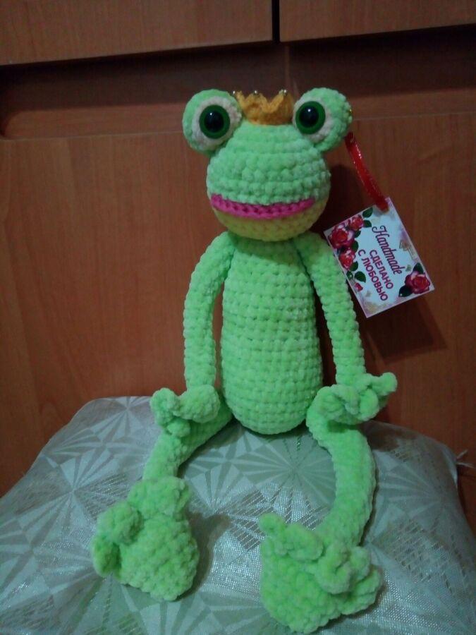 Плюшевая Царевна-лягушка.