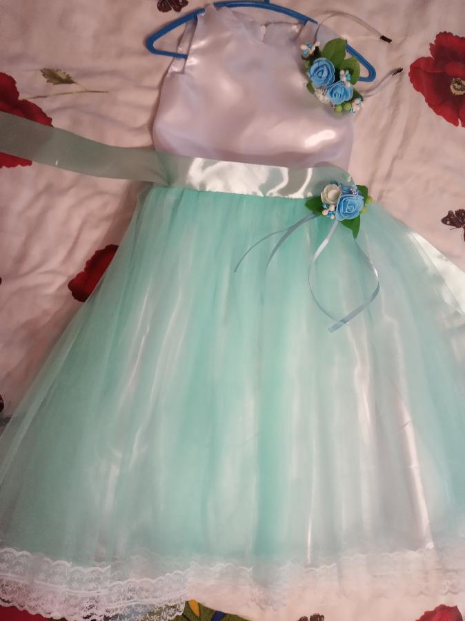 Платье весна цветок