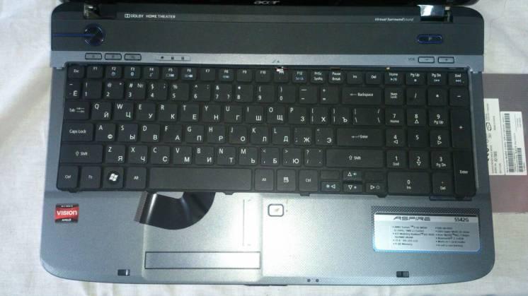 Ноутбук ACER Aspire 5542G на запчасти