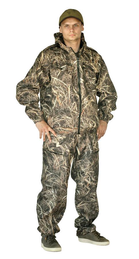 Костюм для отдыха охоты/рыбалки туризма Куртка Штаны комуфляж