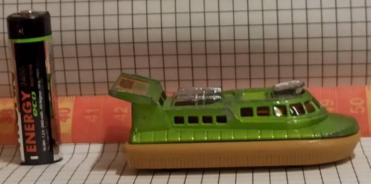 Matchbox - 1972 - Superfast - Hovercraft rescue - # 72 & 2 - моделька