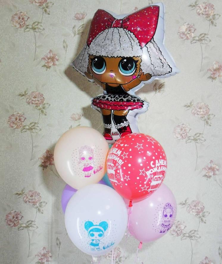 Гелиевые шары куколки Лол