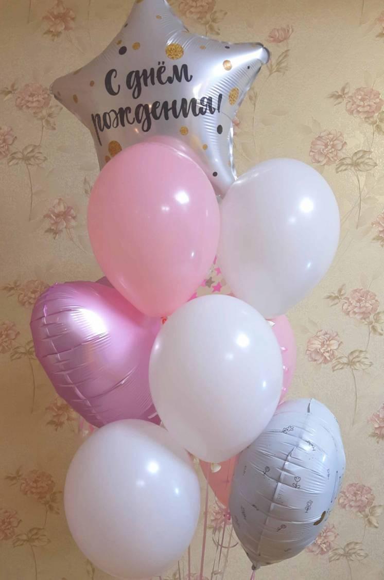 Гелиевые шары для Девочки