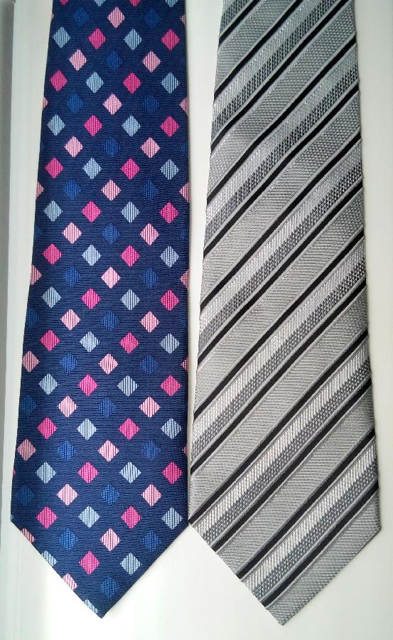 Фирменные шелковые галстуки Pierre Cardin