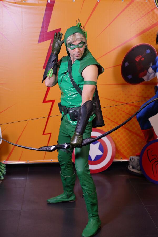 Костюм DC comics Зелёная Стрела