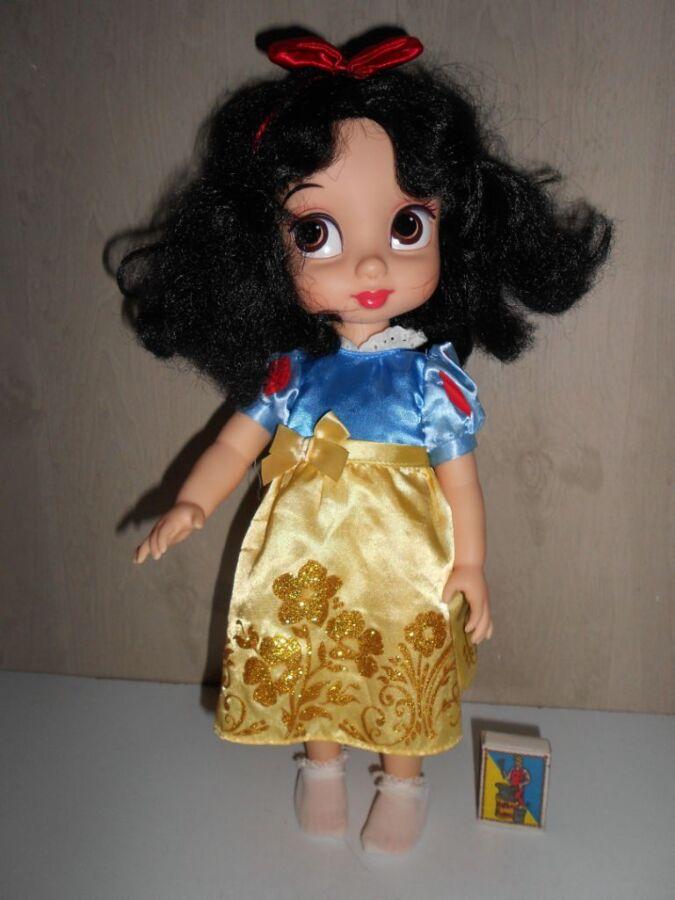 Большая виниловая кукла Аниматор Белоснежка  Disney