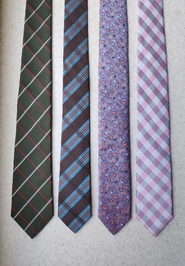 Зауженные галстуки Moreno Galliani, s'Oliver, Zazzi,WE