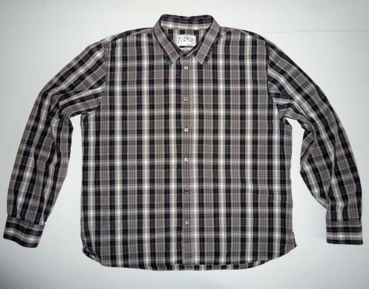 Мужская рубашка Levis левис левайс размер XXL