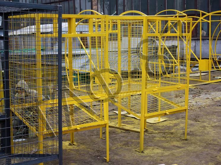 Контейнер для сбора ПЭТ, мусорный бак для пластика 1,45 м.куб.