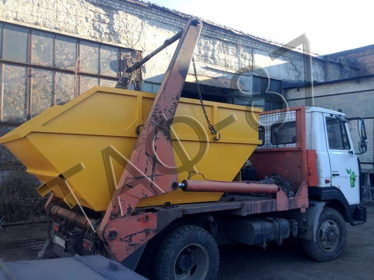 Бункер накопительный для мусора 2,0 / 3,0 мм