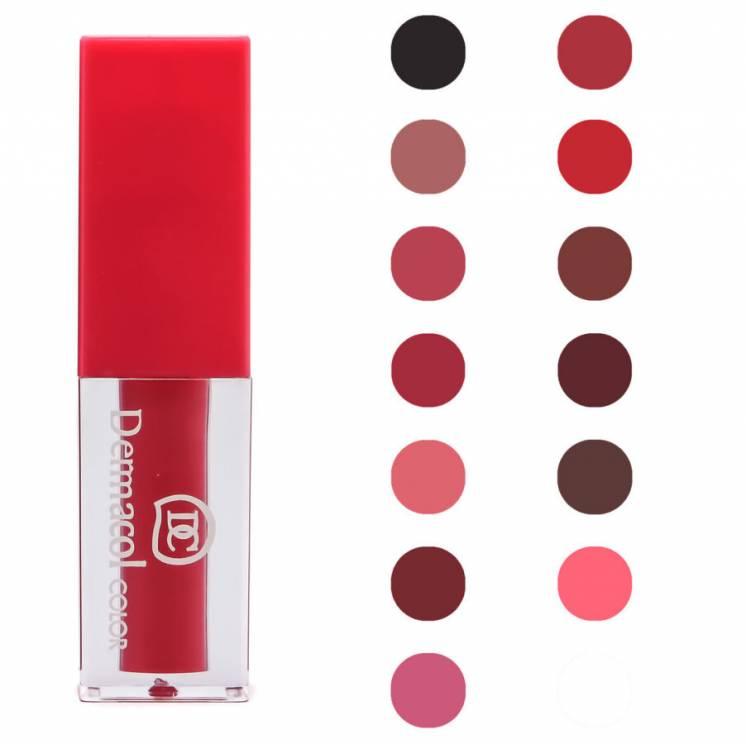 Набор жидких помад Dermacol Color Discover Tempt Lip Gloss 13 в 1
