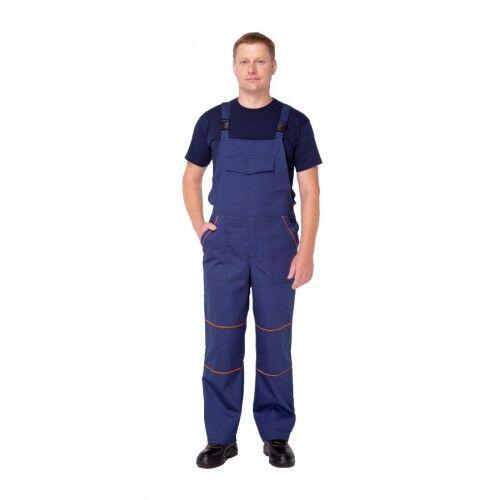 Полукомбинезон мужской рабочий синий