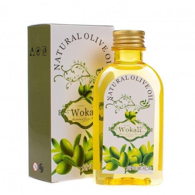 Эфирное масло для тела и волос Олива Wokali 120ml
