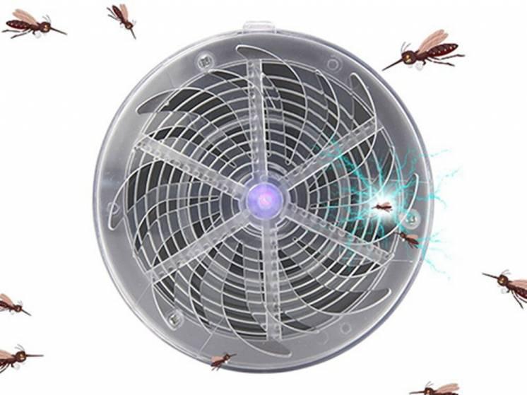 Прибор для уничтожения насекомых Solar Buzzkill, ловушка для насекомых