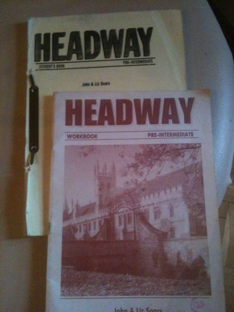 Headway pre-intermediate самоучитель английского языка учебник подарок