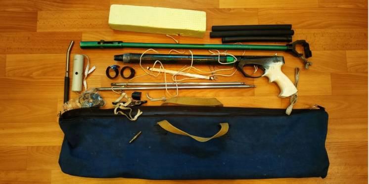 Ружье для подводной охоты РПС-3 модернизированное