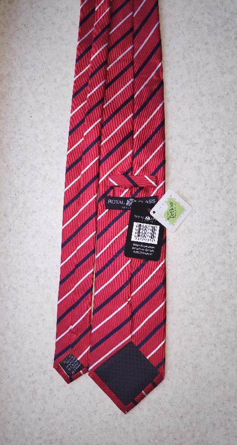 Новый шёлковый галстук Royal Class (Made in Germany)