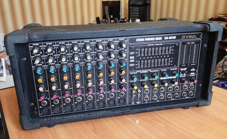Продам активный микшер INKEL CA-8240 POWERED MIXER