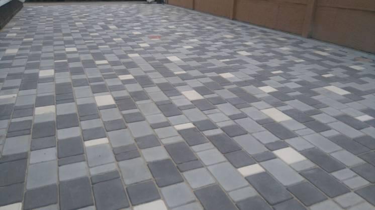 Тротуарная плитка Брук (стенд 3)
