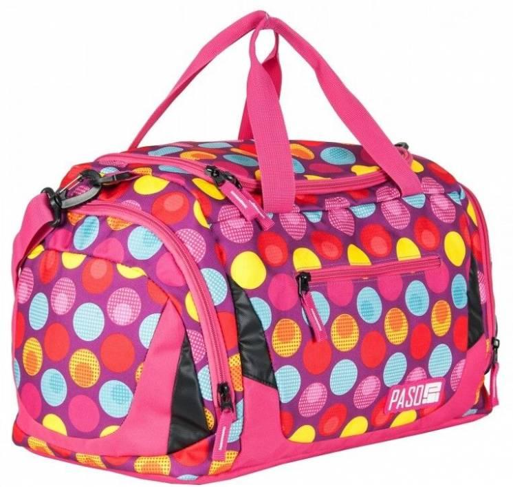 Женская сумка для фитнеса Paso 22L, 17-019UH