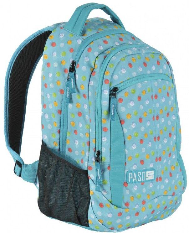 Яркий городской рюкзак PASO 22L, 17-2808UB