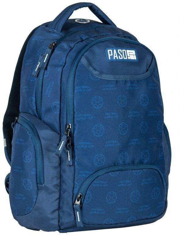 Школьный рюкзак PASO 22L, 17-2908UN синий