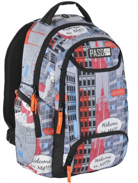 Молодежный рюкзак PASO 22L, 17-2908UY