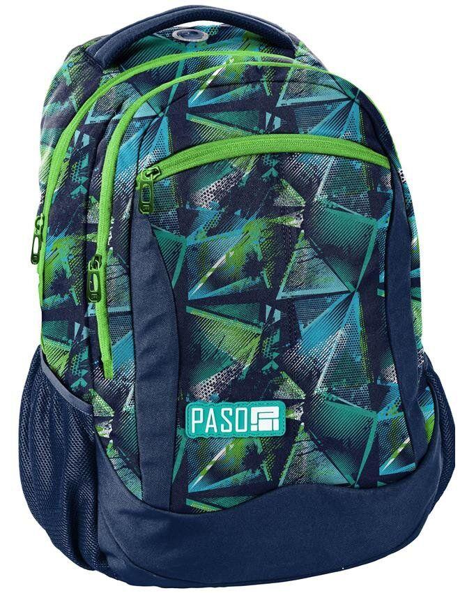 Женский городской рюкзак PASO 22L, 18-2808RG16 синий