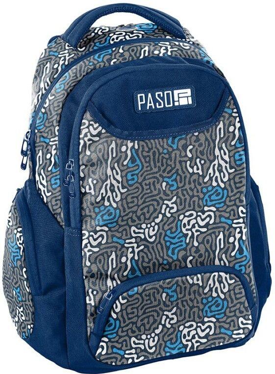 Рюкзак городской PASO 22L, 18-2908JJ синий
