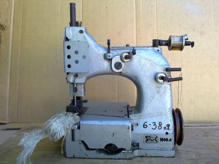 Швейная машина мешкозашивочная 6-38 класс для биг-бегов. Новая.