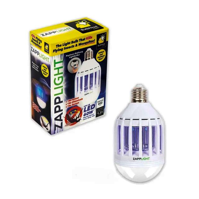 Светодиодная лампа от насекомых Zapp Light, Уничтожитель насекомых