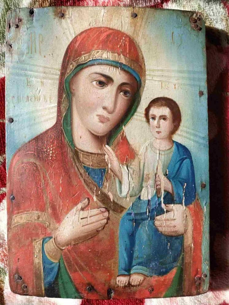 Икона Матерь Божья Смоленская