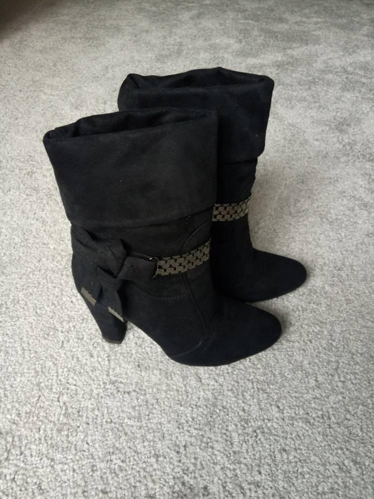 Напівчоботи чоботи сапоги полусапожки ботинки