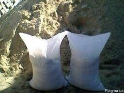 Песок, щебень, отсев в мешках и валом (на вес)