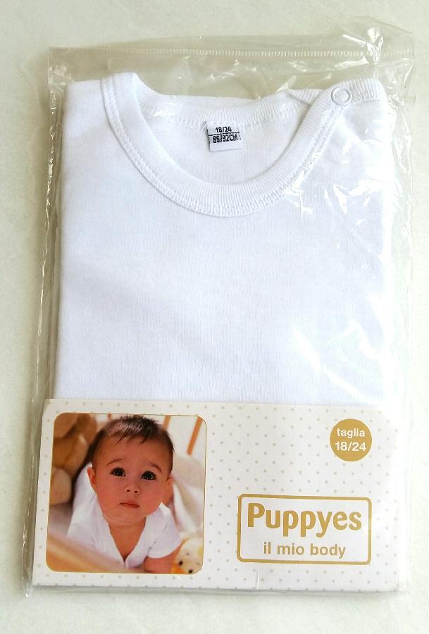 Бодик детский боди для новорожденного 18-24м 86-92 см Puppyes Италия