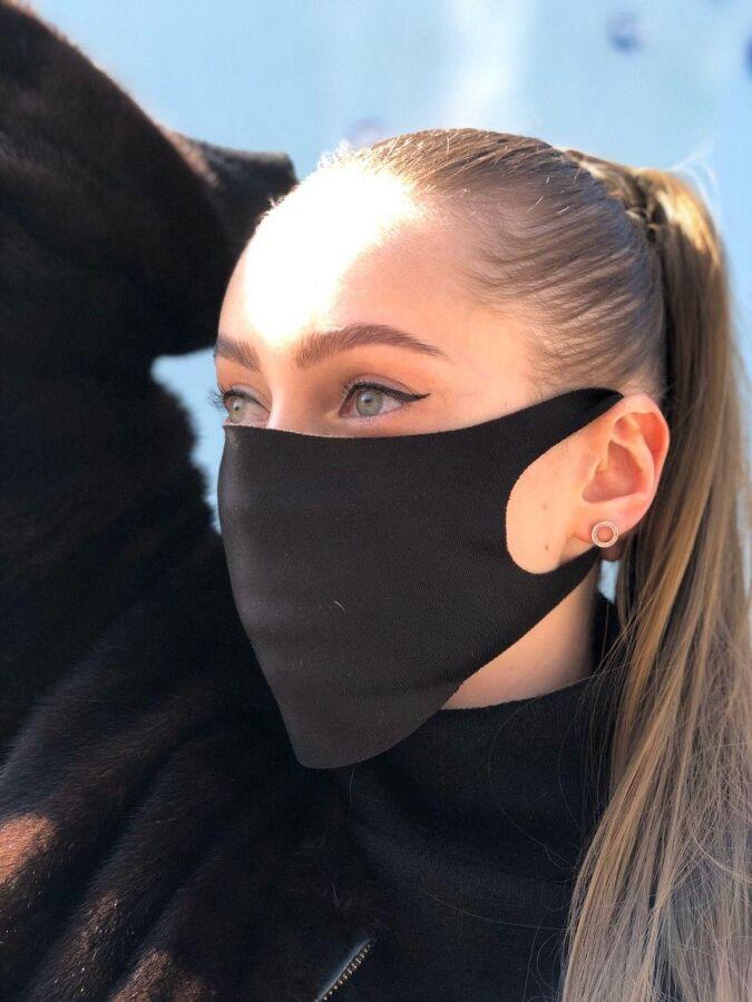 Защитная маска 3шт на лицо Питта (пита), респиратор, барьерные